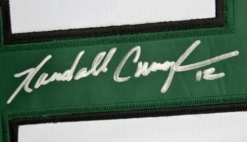 5923232a739 ... Randall Cunningham Signed Philadelphia Eagles Throwback Style Jersey  (JSA)
