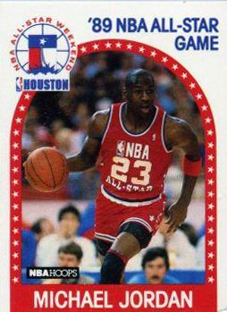 ae2787c5e16 ... Michael Jordan Rare Front-Signed 1988-89 NBA All-Star Game Mitchell &