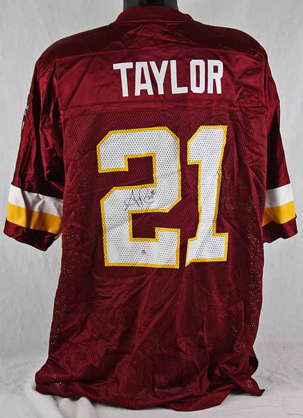 newest d391a ce18c Lot Detail - Sean Taylor Rare Signed Redskins Replica Model ...