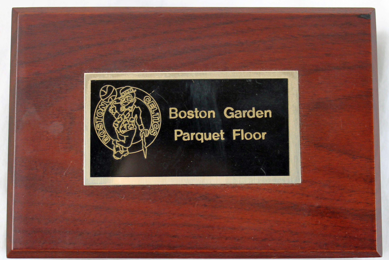 Lot Detail Paul Pierce Signed Original Piece Of The Boston