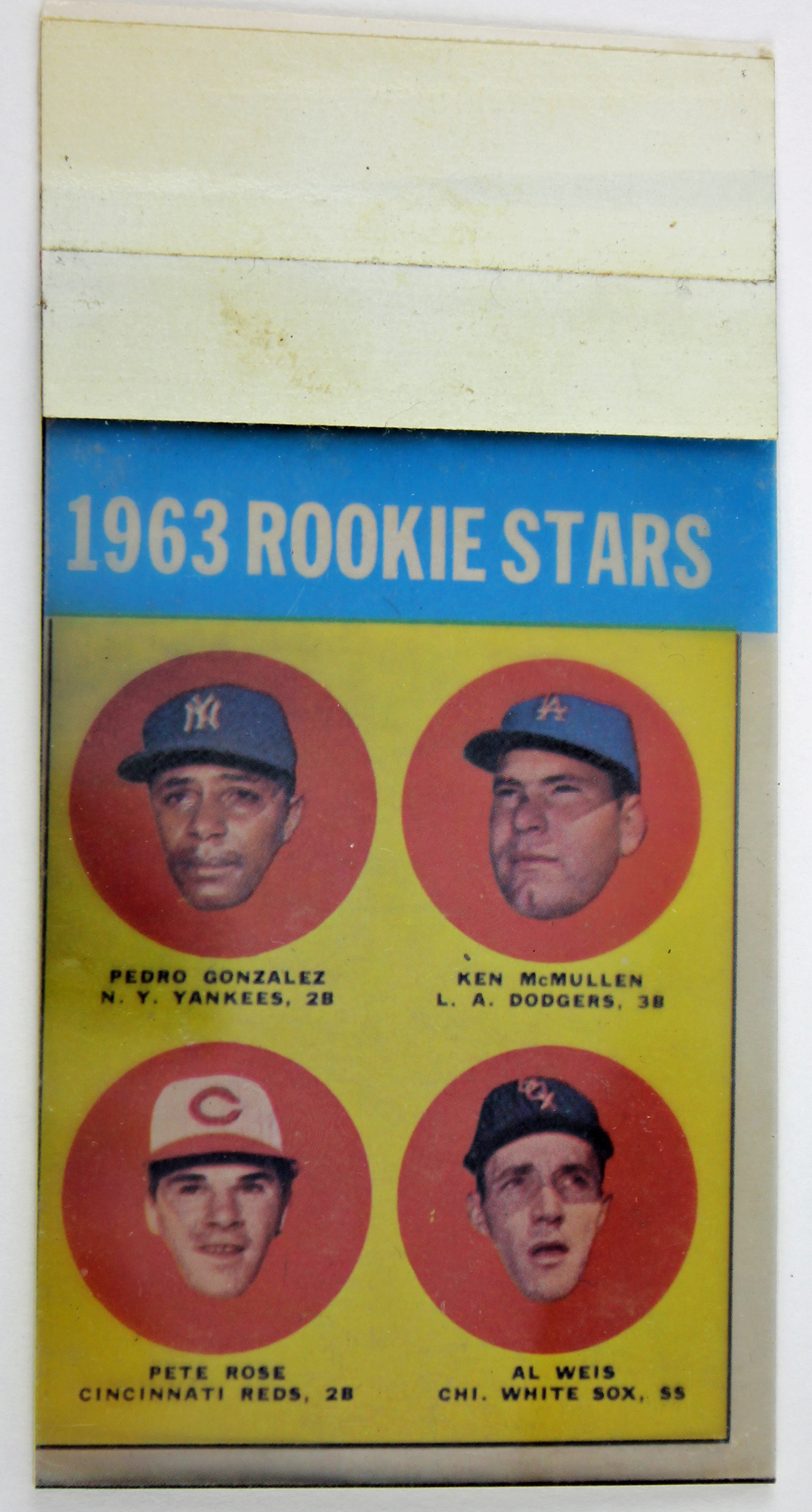 Lot Detail Pete Rose Original 1963 Topps Production