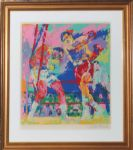 LeRoy Neiman George Foreman Boxing Serigraph Artist Proof (JSA)