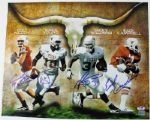 CAMPBELL WILLIAMS YOUNG & MCCOY SIGNED AUTHENTIC 16X20 PHOTO PSA/DNA