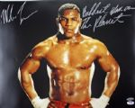 MIKE TYSON BADDEST MAN ON PLANET SIGNED 16X20 PHOTO PSA
