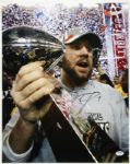 STEELERS BEN ROETHLISBERGER SIGNED AUTH 16X20 PHOTO