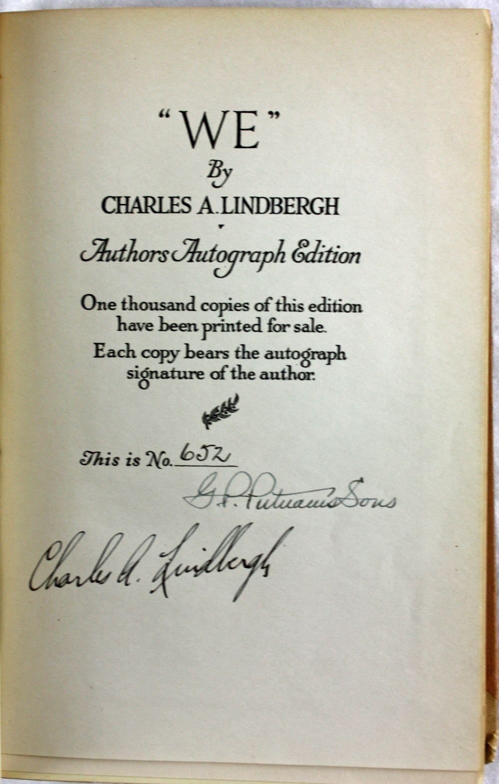 covers letters examples lot detail charles lindbergh signed limited edition 21219