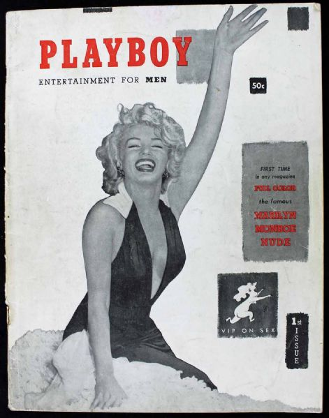 Playboy: Original Issue #1 Featuring Marilyn Monroe (Dec. 1953)