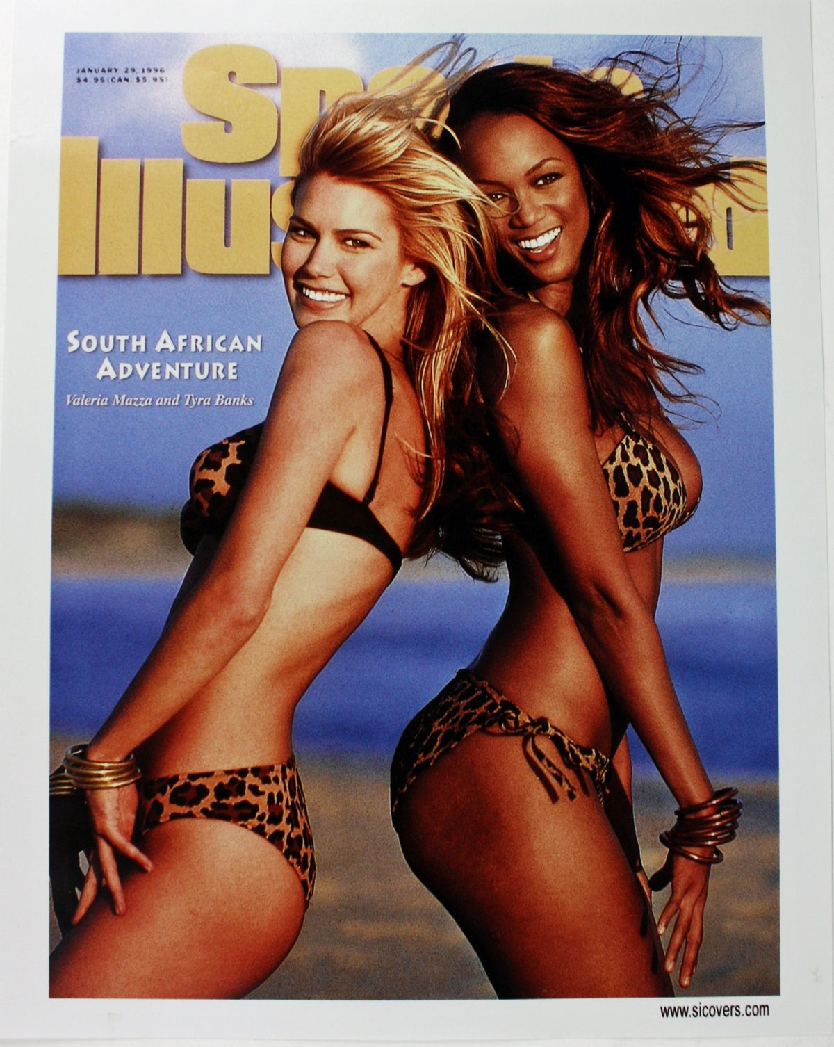 Tyra Banks Model Sports Illustrated