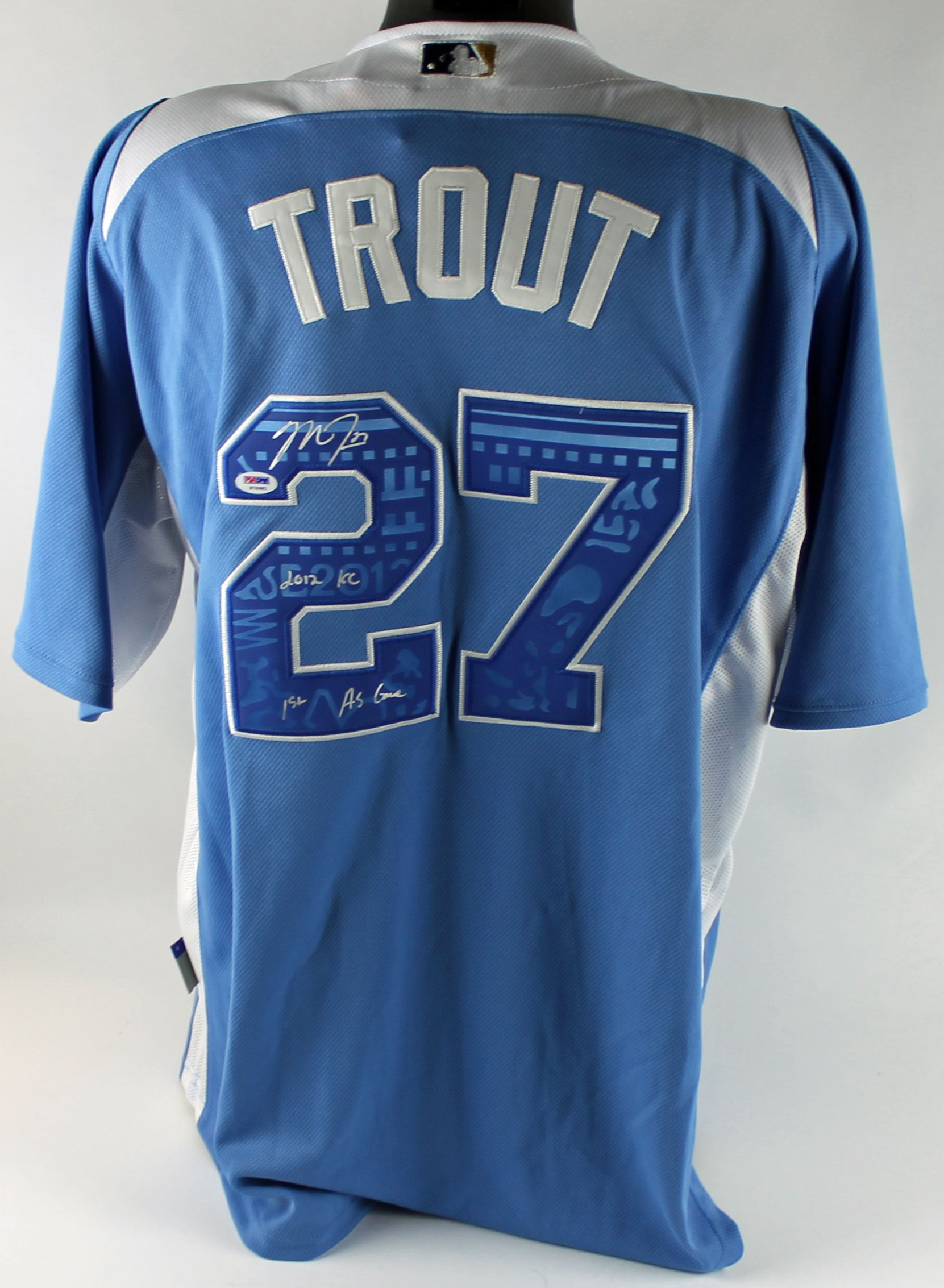Mike trout all star game jersey for cheap for Bryce harper mvp shirt