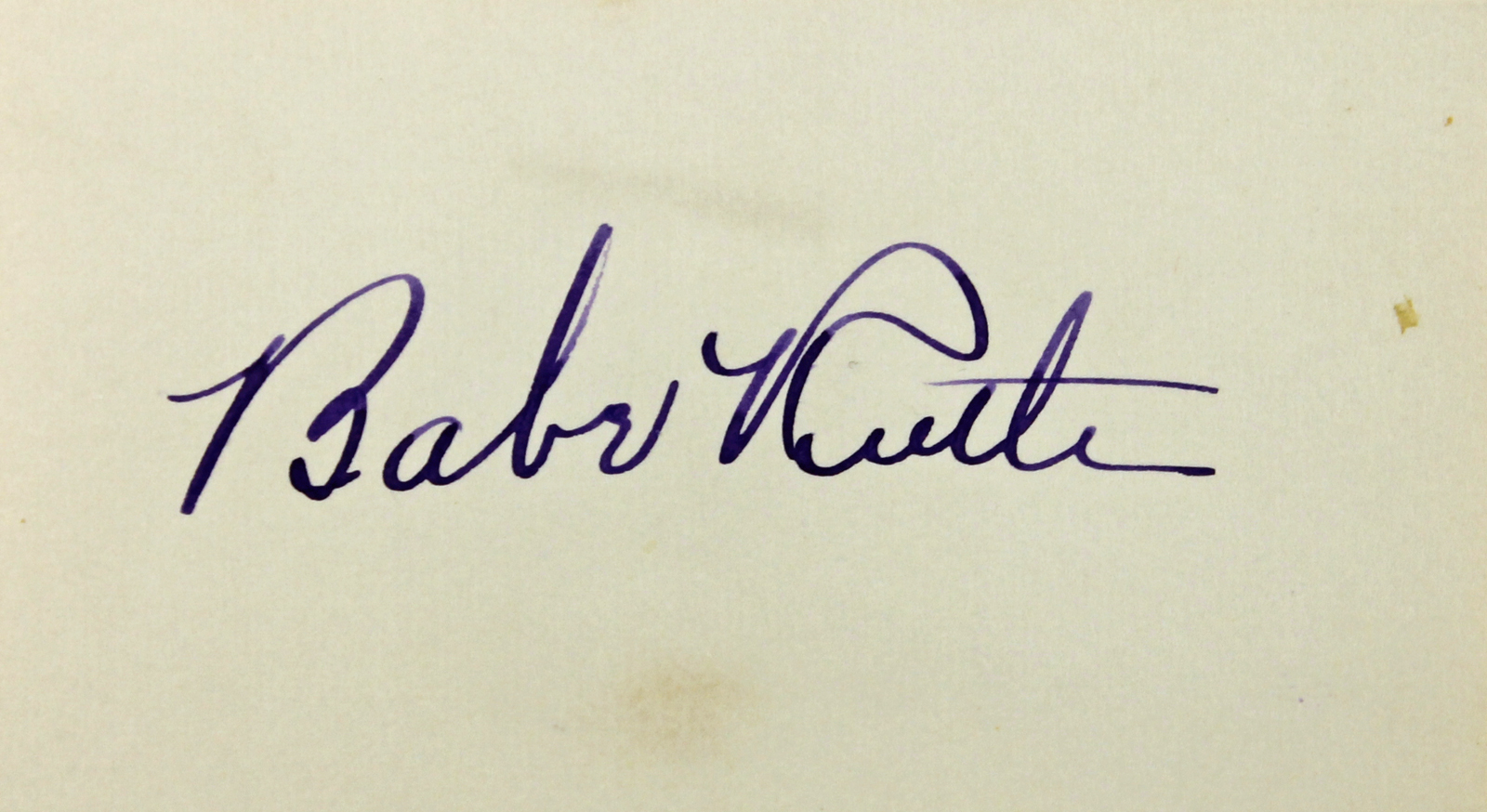 Lot Detail Babe Ruth Phenomenal Fountain Pen Autograph
