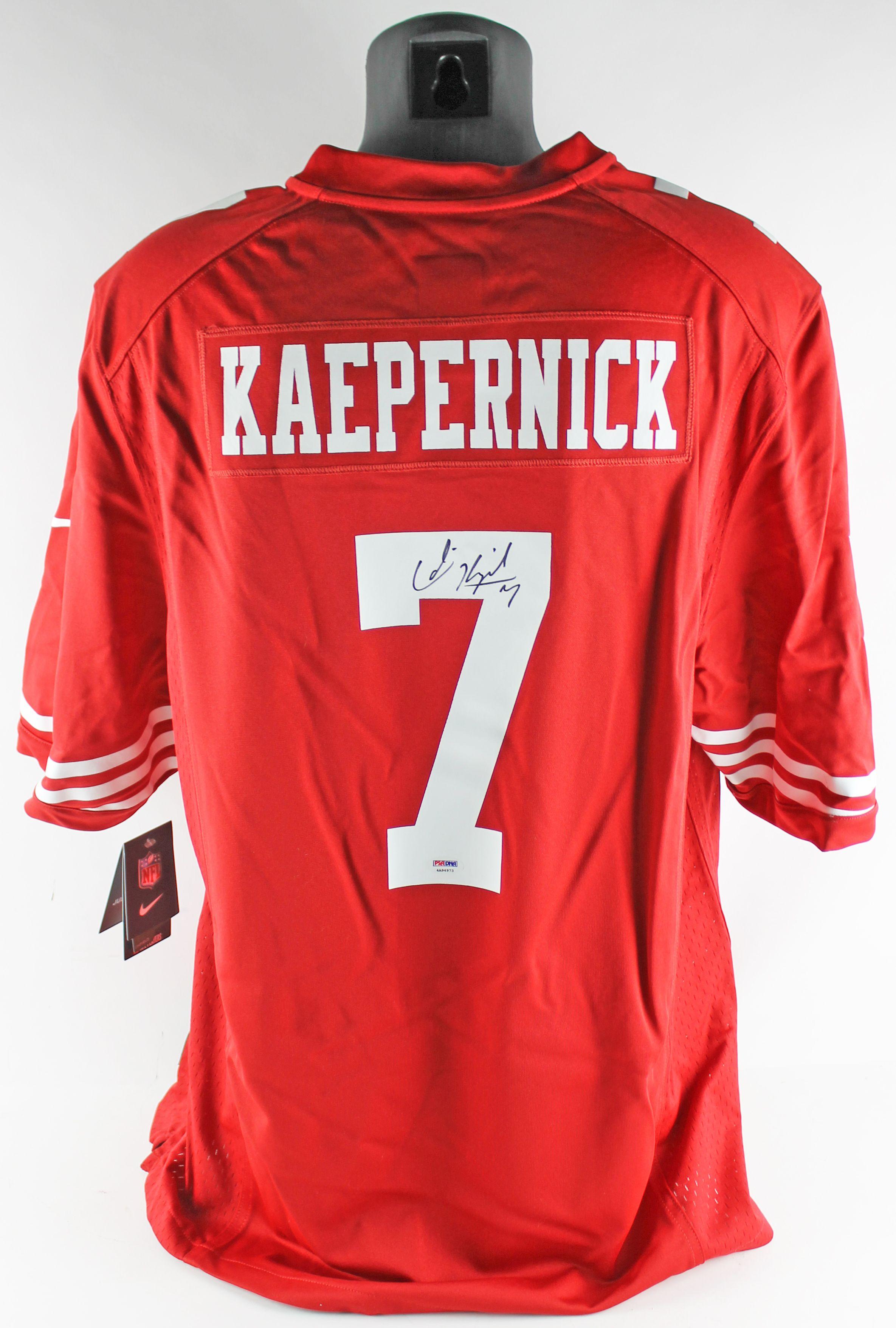 promo code 986e7 18e3b Lot Detail - SUPER BOWL XLVII: Colin Kaepernick Signed Nike ...