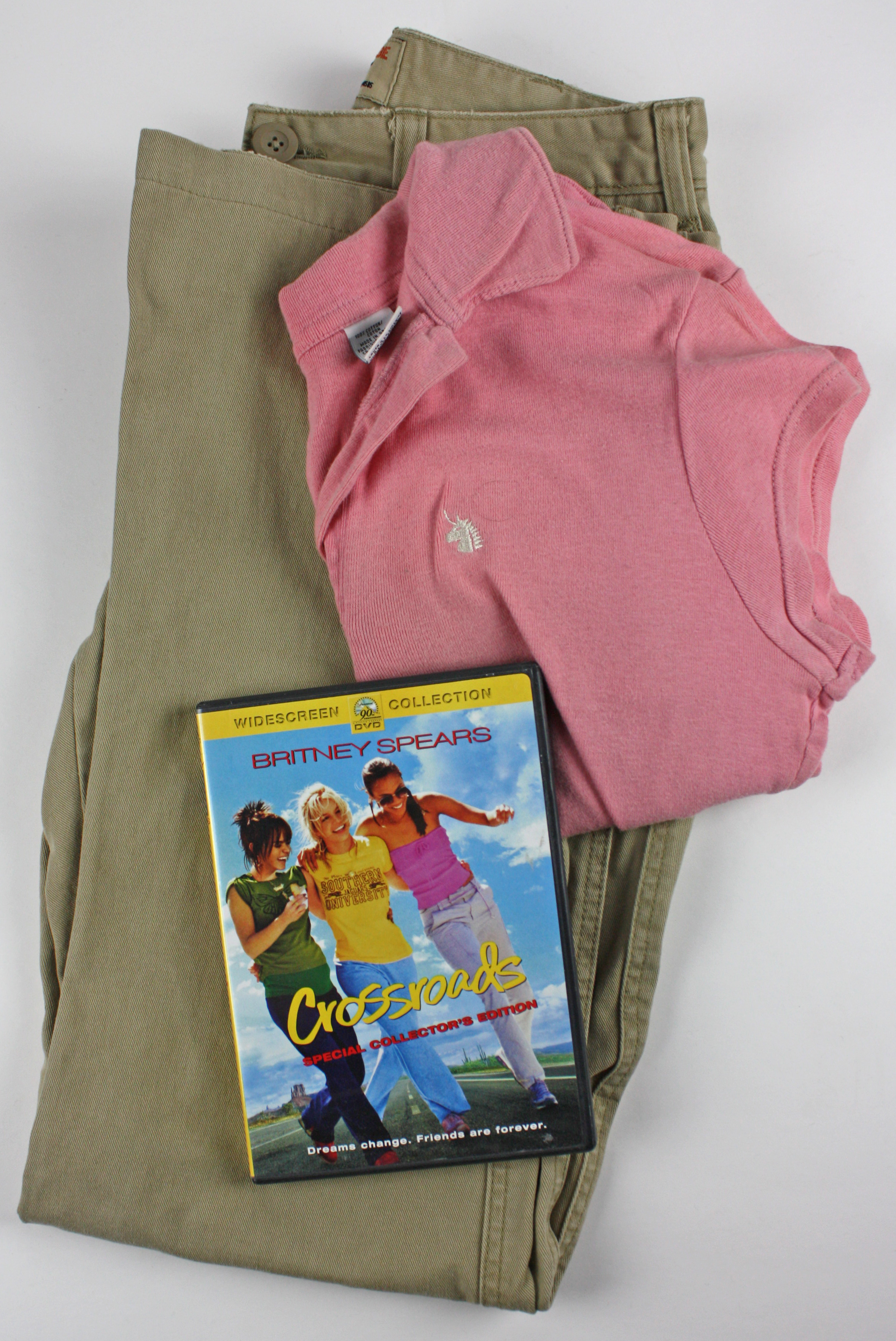 Lot Detail Britney Spears Screen Worn Outfit From Crossroads Britney Spears Foundation Coa