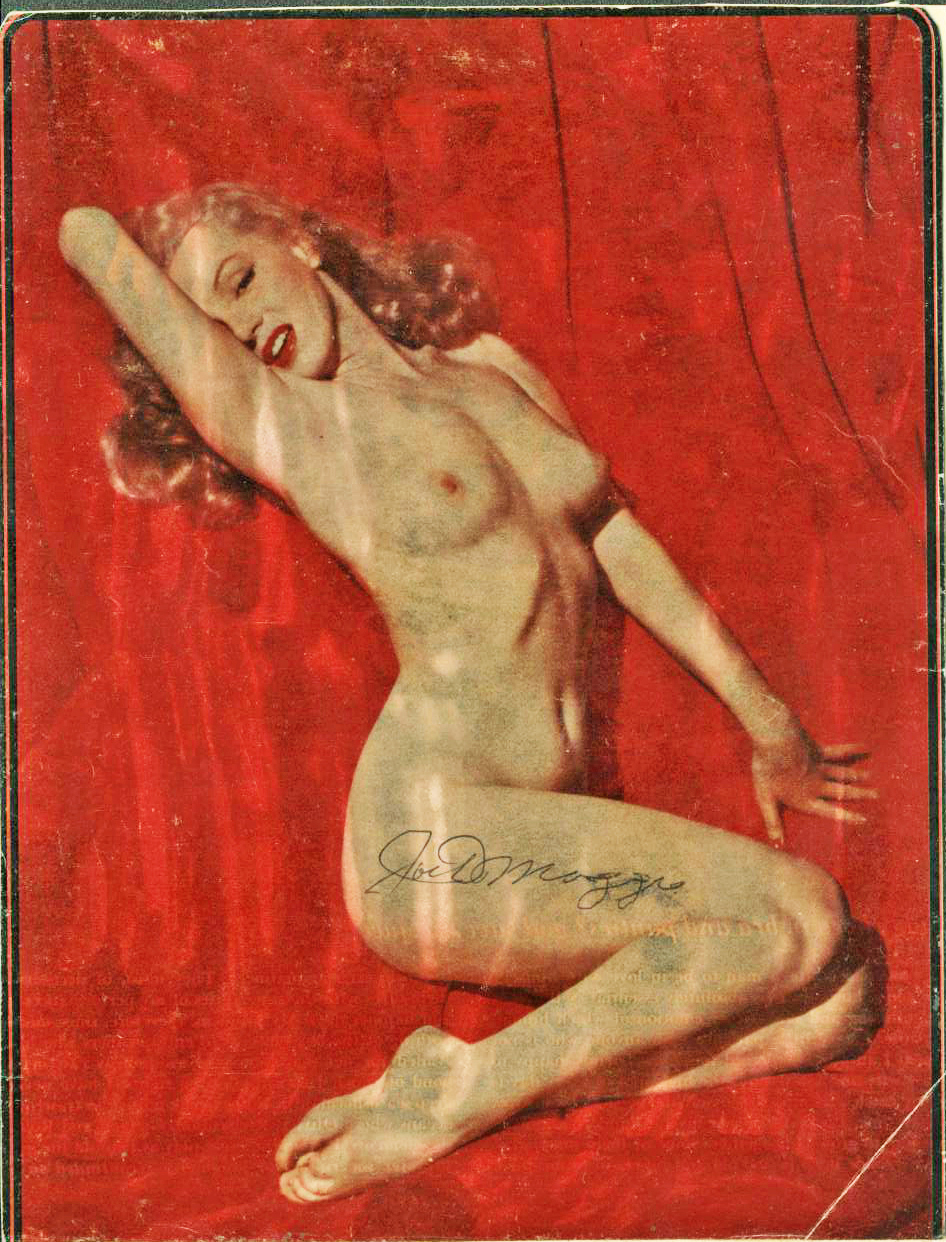 Amazing Marilyn monroe nude golden dreams poster redhead?
