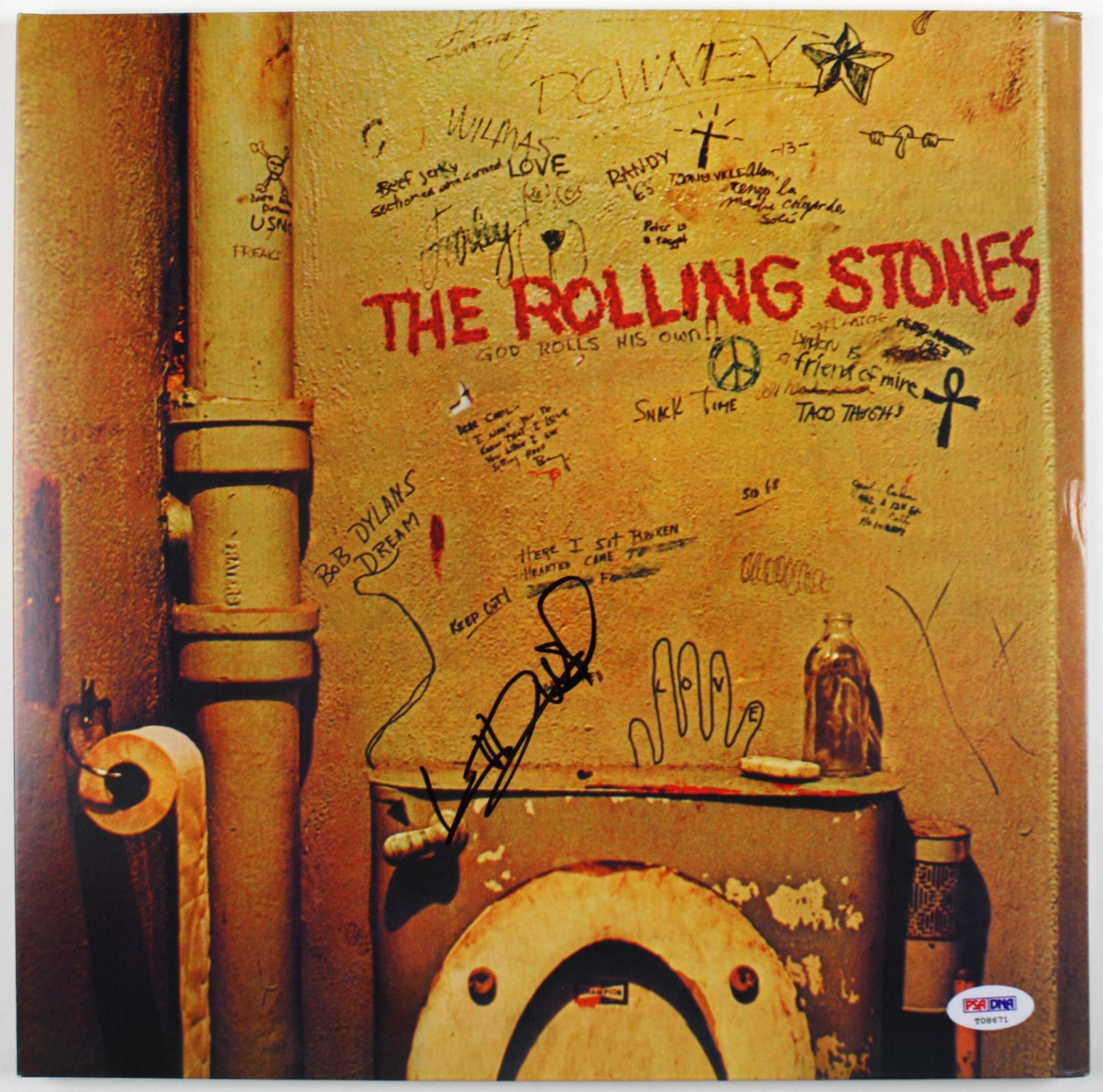 Lot Detail The Rolling Stones Keith Richards Superb