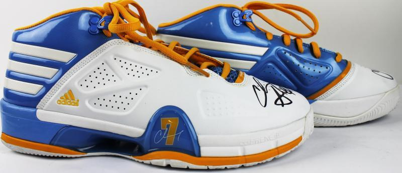 new arrival c625c 11b4e Chauncey Billups Game Used   Signed Adidas Sneakers (Nuggets)(PSA DNA) ...