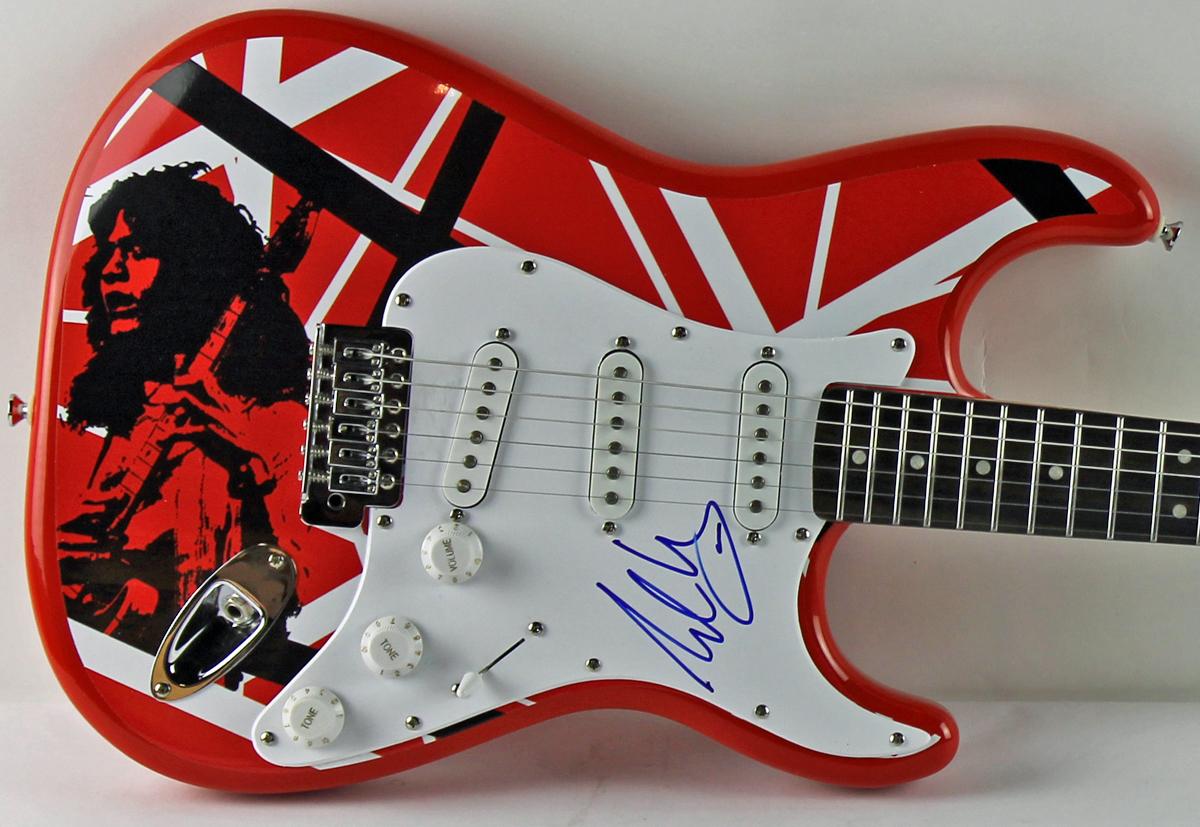 Lot Detail - Eddie Van Halen Impressive Signed Fender ...Eddie Van Halen Guitar Design