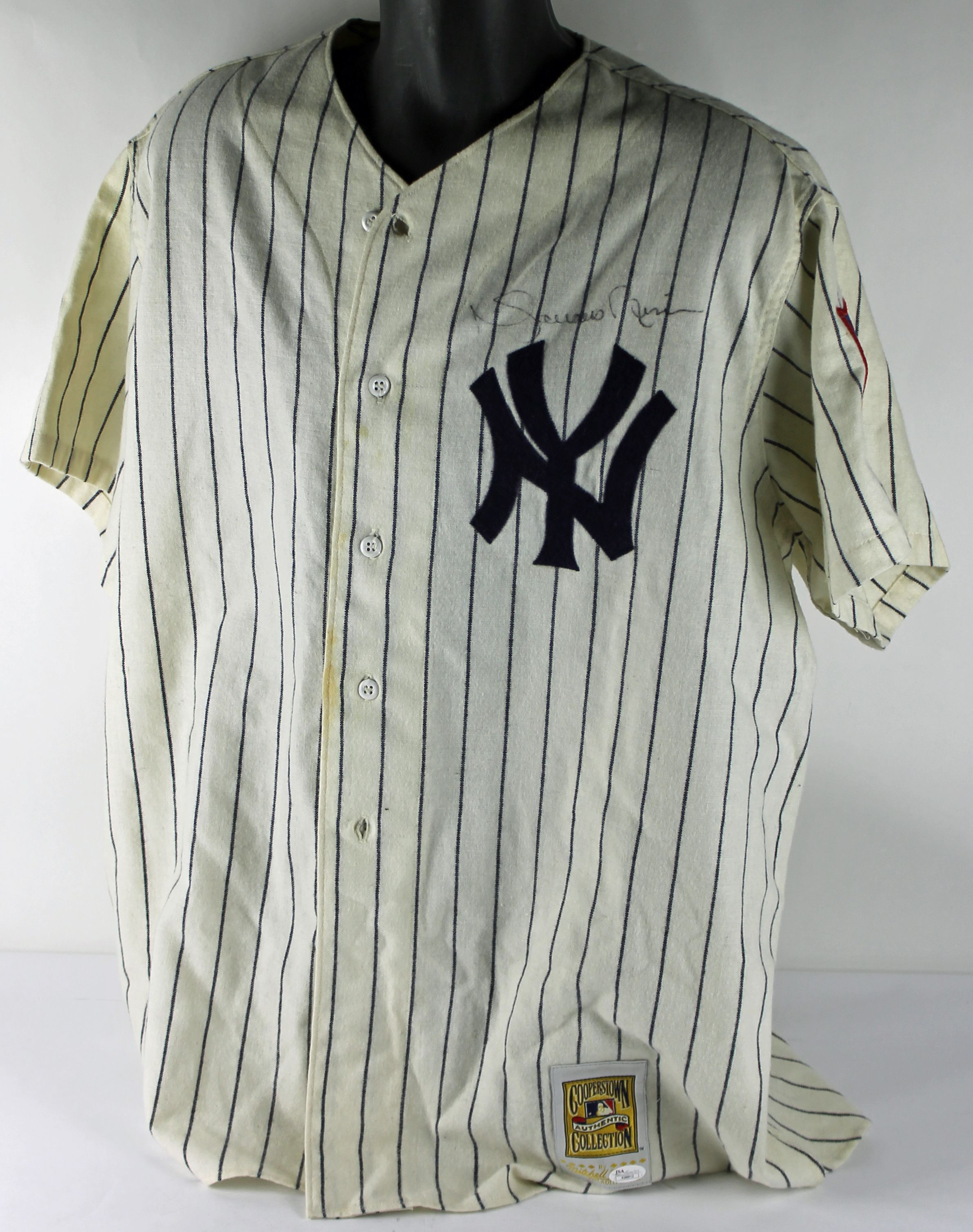 finest selection f010f 1413b Lot Detail - Rare Mariano Rivera Signed Mitchell & Ness 1951 ...