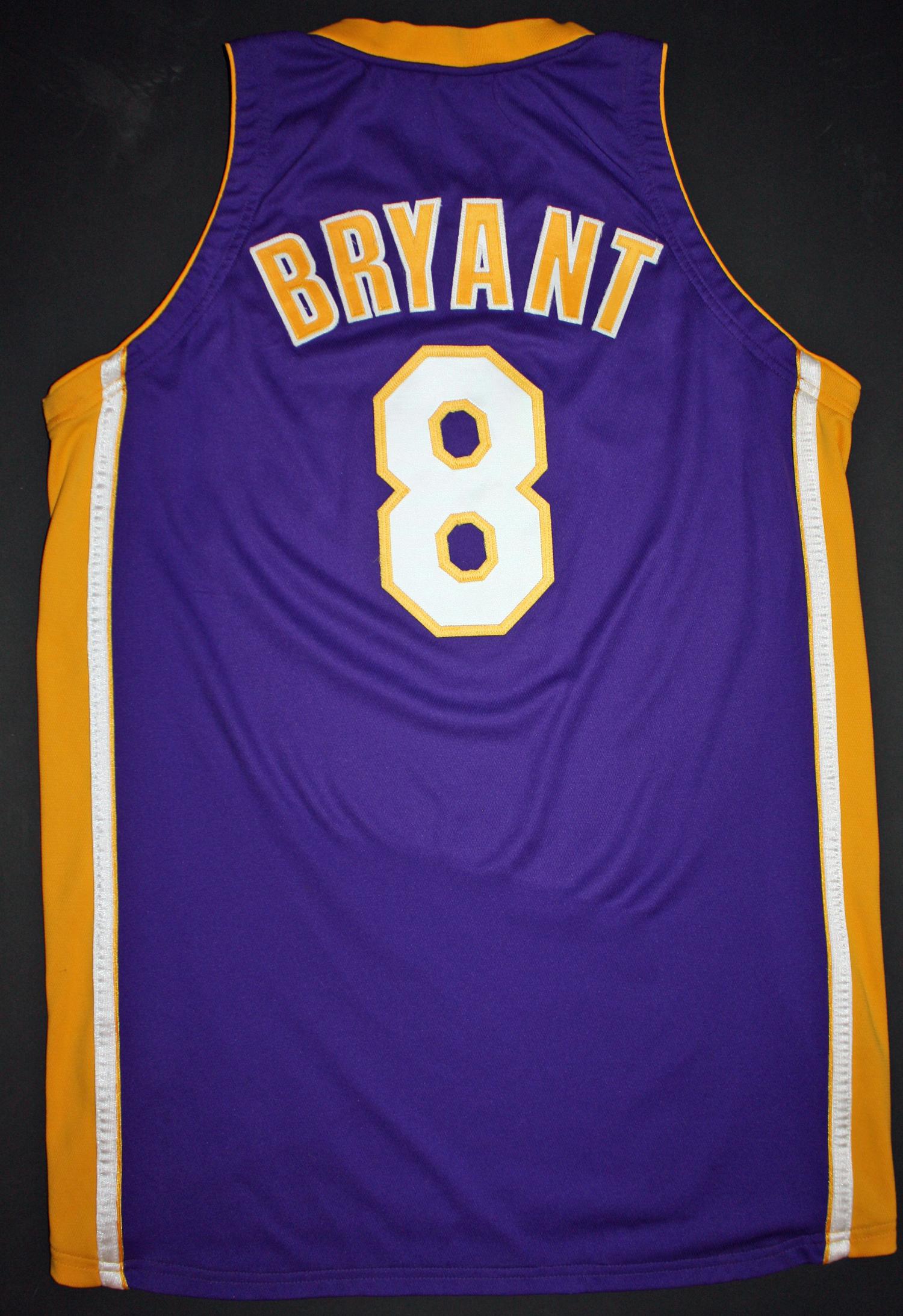 82b82185003 ... 1999-2000 Kobe Bryant Game Worn   Signed NBA Finals Jersey (PSA   Grey  ...
