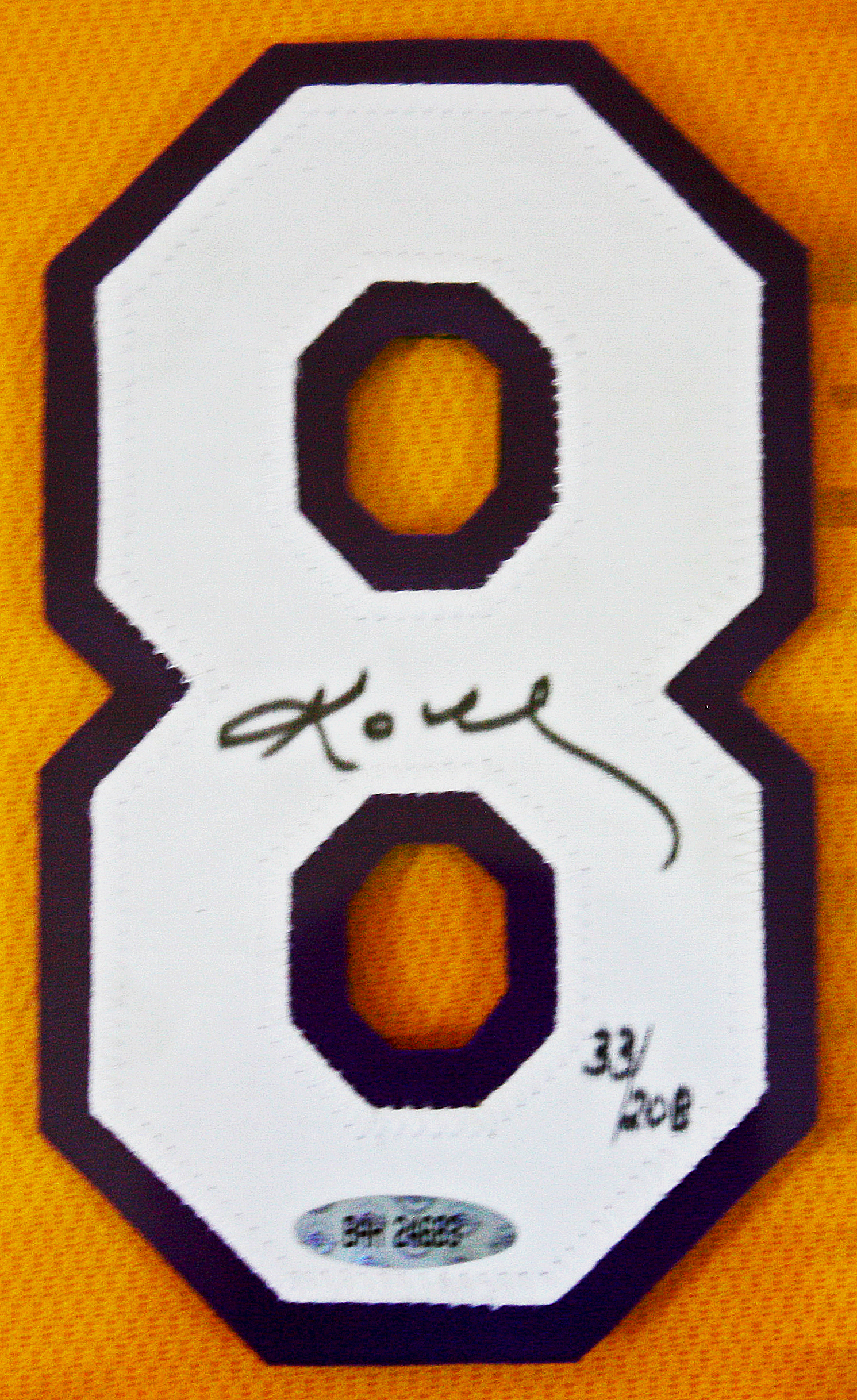 Lot Detail - Kobe Bryant Signed 2000 NBA Finals Jersey Number Ltd ...