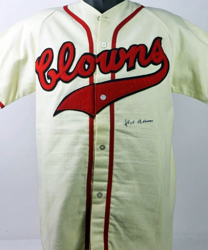 online store f9fa8 e0c85 Lot Detail - Hank Aaron Ultra Rare Signed Indianapolis ...