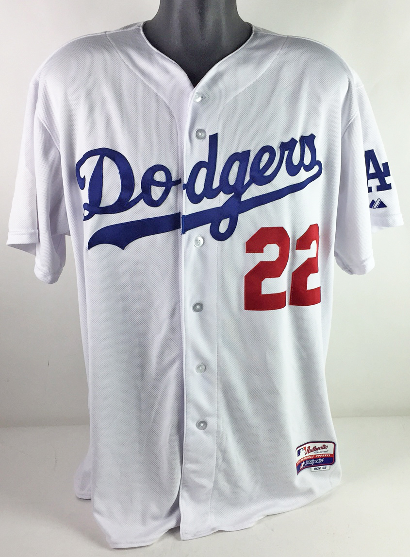 02eee001653 Lot Detail - 2014 Clayton Kershaw Game Worn LA Dodgers Jersey (Cy ...