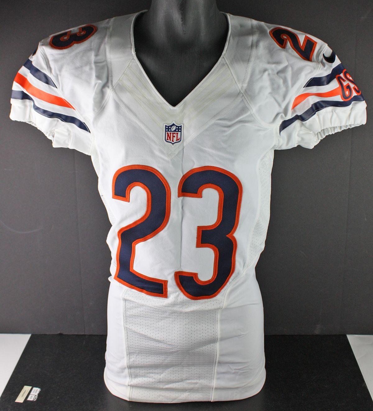 buy popular 426b3 61153 Lot Detail - 2012 Devin Hester Game Worn & Signed Chicago ...
