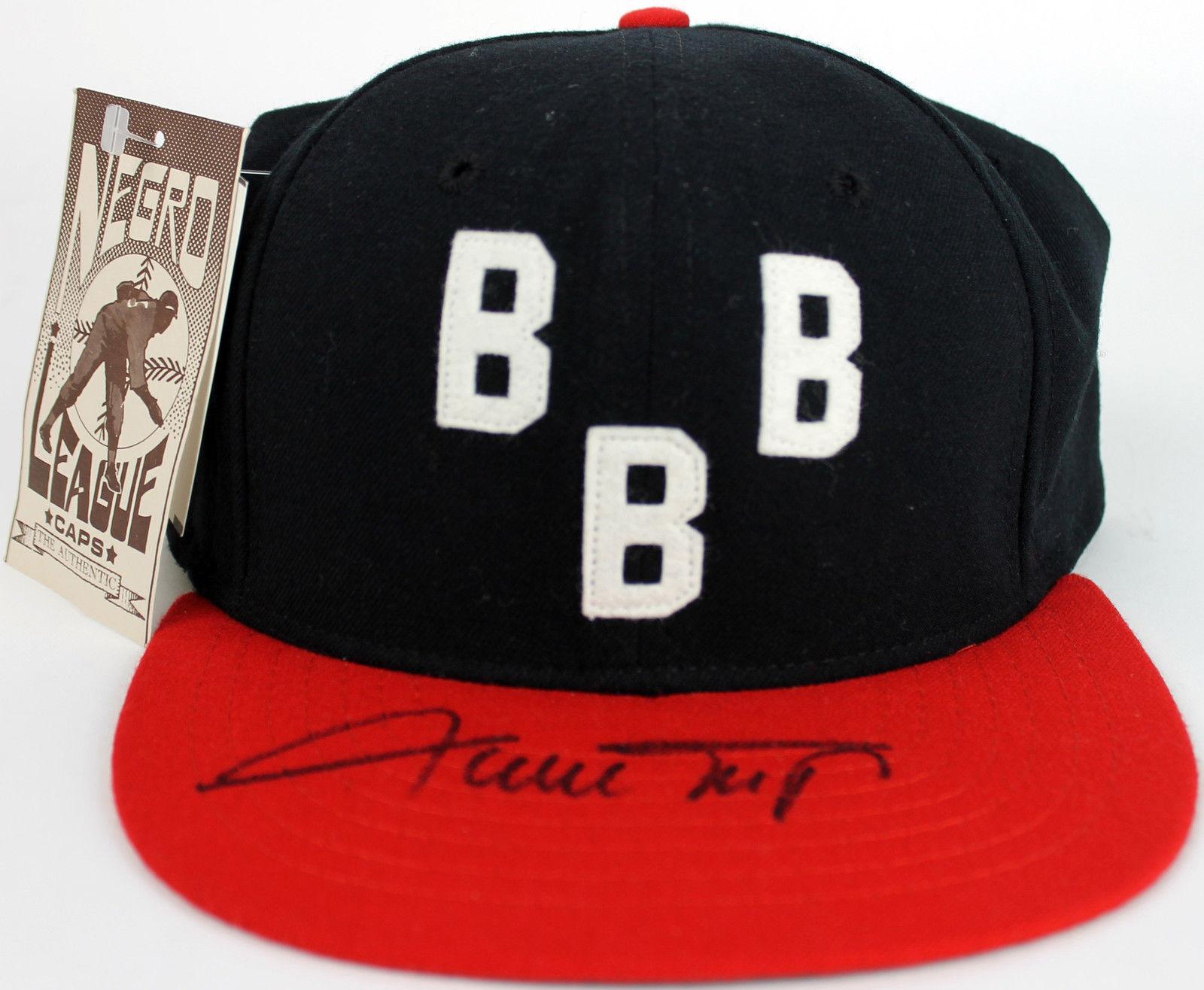 859fb98cf0b Lot Detail - Willie Mays Signed Birmingham Black Barons Baseball Cap ...