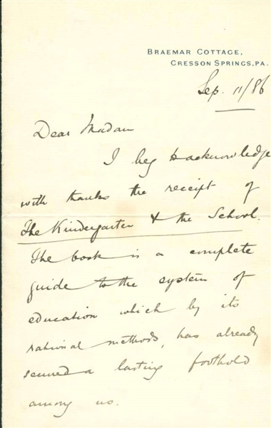 carnegie letter Title: letter from andrew carnegie to theodore roosevelt collection: library of congress manuscript division description: andrew carnegie is disturbed by the british treatment of the defeated afrikaners and believes that the afrikaners (or dutch as he calls them) will one day once again rule in south africa.