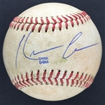 Kevin Costner Signed & Game Used CSU Fullerton NCAA College Baseball (Costners Alma Mater!)(JSA)