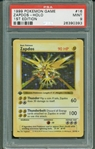 1999 Pokemon Zapdos #16 First Edition Trading Card PSA Graded MINT 9!