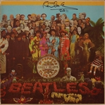"The Beatles: Paul McCartney Signed ""Sgt. Peppers Lonely Hearts Club Band"" Album (Caiazzo & JSA)"