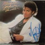 "Michael Jackson Signed ""Thriller"" Album - One Of The Best In The Hobby! (Beckett & REAL/Epperson)"
