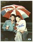 "Dean Martin & Jerry Lewis Rare & Desirable Signed 11""x14"" Photo (BAS/Beckett)"
