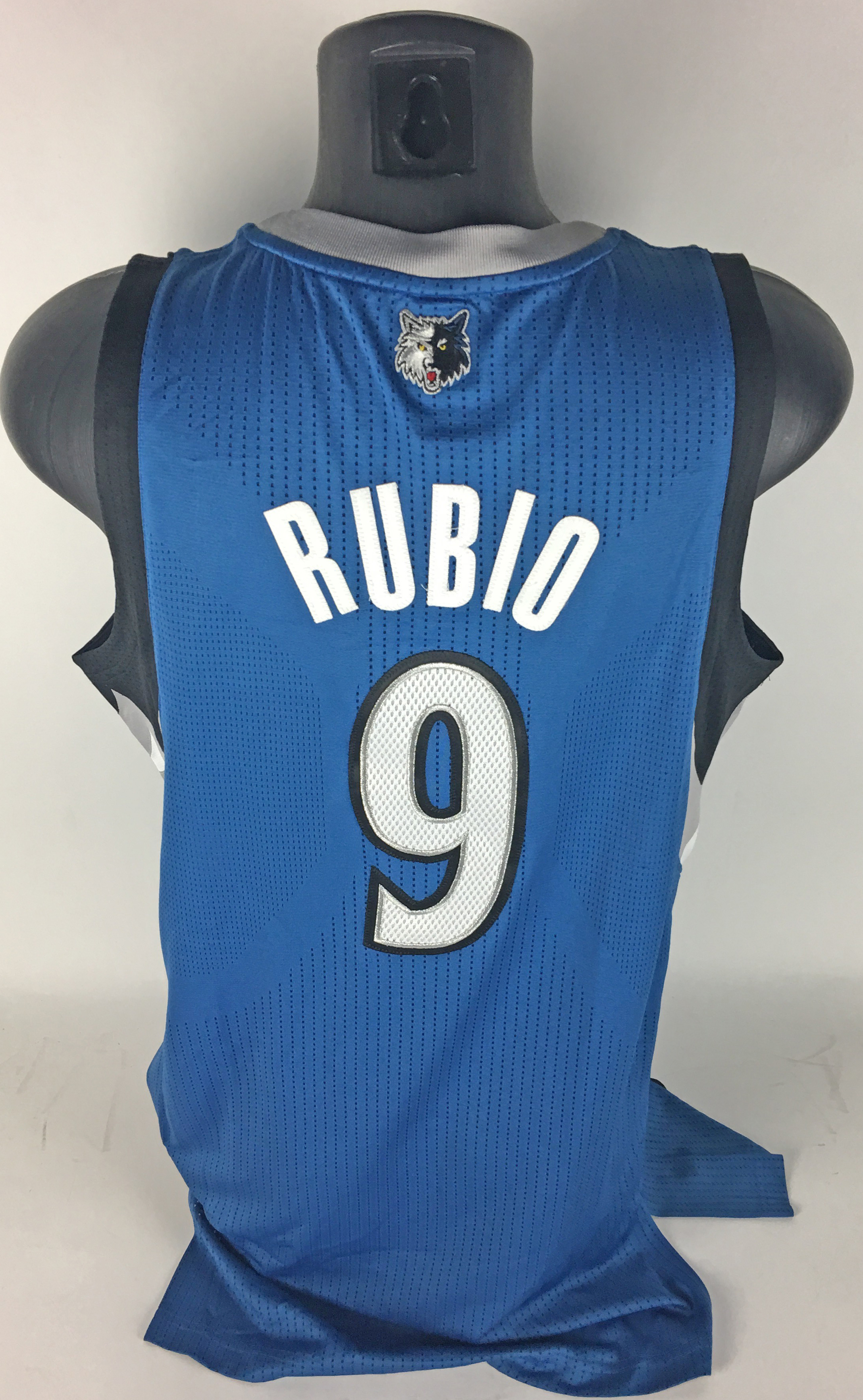 huge discount 240c5 94a8c Lot Detail - Ricky Rubio Game Worn/Used 2012 Minnesota ...