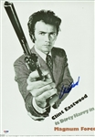 "Clint Eastwood Signed 11"" x 17"" Dirty Harry Poster Style Print (PSA/DNA)"