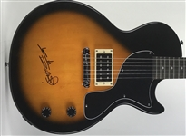The Rolling Stones: Keith Richards Superbly Signed Epiphone Les Paul Junior Model Electric Guitar (Beckett/BAS LOA)