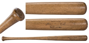 Superb 1923-25 Babe Ruth Game Used Hillerich & Bradsby Baseball Bat (PSA/DNA & MEARS)