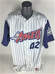 Mo Vaughn Game Worn/Used 1999 Angels Jersey (California Sports)