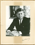 "President John F. Kennedy Signed Over-Sized 10"" x 13"" Photograph (PSA/DNA)"