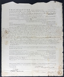 William Henry Harrison & Anna Harrison Rare Dual Signed 1810 Indenture Document (Beckett/BAS Guaranteed)