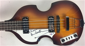 The Beatles: Paul McCartney Superbly Signed Left-Handed Hofner Bass Guitar - The Iconic Beatle Bass! (PSA/DNA)