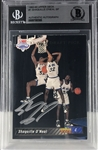Shaquille ONeal Signed 1992-93 Upper Deck Rookie Card (Beckett/BAS Encapsulated)