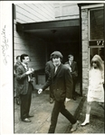 "The Beatles: George Harrison Ultra-Rare Vintage Signed 11"" x 14"" Black & White Photograph (Beckett)"