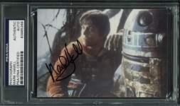 "Star Wars: Mark Hamill Signed 3.5"" x 5"" Color Photo (PSA/DNA Encapsulated)"