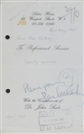 "The Beatles Paul McCartney 1967 Signed & Inscribed ""Please Pay"" Receipt For Girlfriend Jane Asher! (PSA/DNA)"