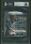 "Eric Clapton Band Signed ""The Cream of Clapton"" CD Cover w/ 6 Signatures! (Beckett)"