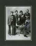 "The Beach Boys Vintage Group Signed 8"" x 10"" Black & White Photograph w/ 5 Signatures! (Beckett)"