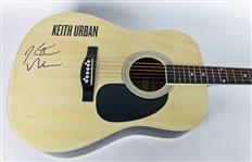 Keith Urban Signed Acoustic Guitar (PSA/DNA)