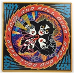 "KISS Group Signed ""Rock and Roll Over"" Album w/ All 4 Members! (BAS/Beckett)"