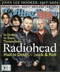 Radiohead Group Signed 2001 Rolling Stone Magazine w/ All Five Members! (Beckett)
